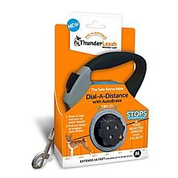 Dial-a-distance Medium Retractable Leash in Grey