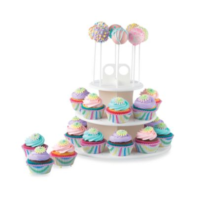 Sweet Creations Cupcake Cake Pop Stand Bed Bath Amp Beyond