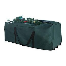 Elf Stor 9-Foot Rolling Christmas Tree Storage Bag in Green