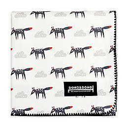Dono&Dono Little Zoro Cotton Cuddle Blanket in Black/White