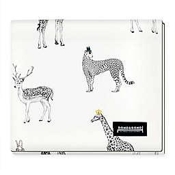 Dono&Dono Retro Animal All Seasons Blanket in Black/White