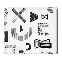 Dono&Dono All Seasons Classic Blanket in Maze Letter
