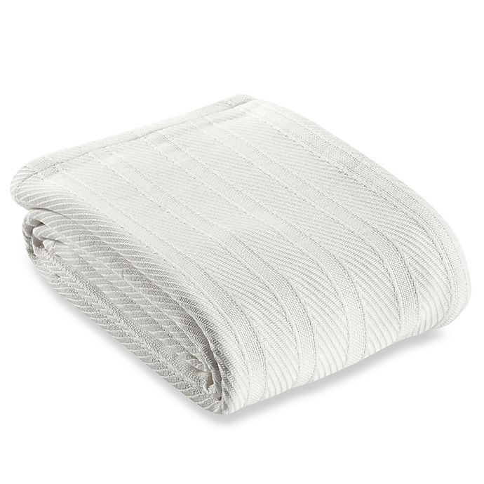 Alternate image 1 for Wamsutta® Classic Cotton Full/Queen Blanket in White