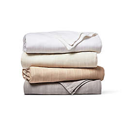 Wamsutta® Classic Cotton King Blanket in Tan