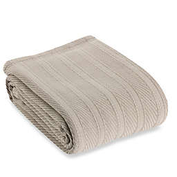 Wamsutta® Classic Cotton Twin Blanket in Grey