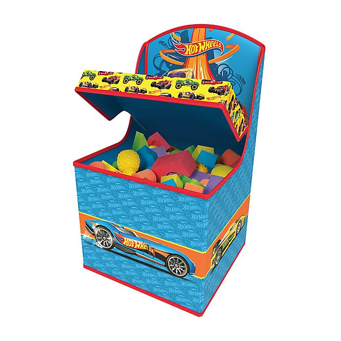 Alternate image 1 for Hot Wheels Tidy Town Hidden Storage Chair