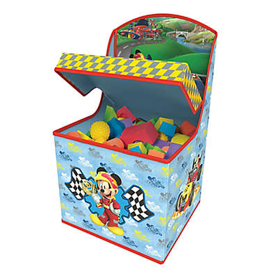 Mickey Roadster Racers Tidy Town Hidden Storage Chair