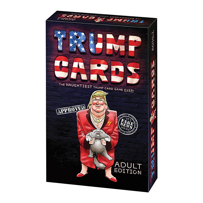 R and R Games Trump Cards Adult Edition Real or Fake News ...
