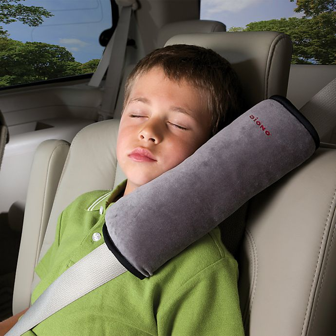 Alternate image 1 for Diono™ Seat Belt Pillow™ in Grey
