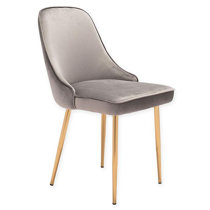 Alternate image 1 for Zuo® Merritt Velvet Dining Chair