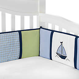 Nautica Kids® Zachary Crib Bumper