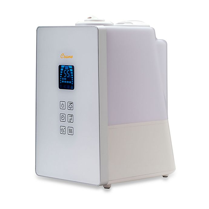Alternate image 1 for Crane Warm and Cool Mist Humidifier with Ionizer