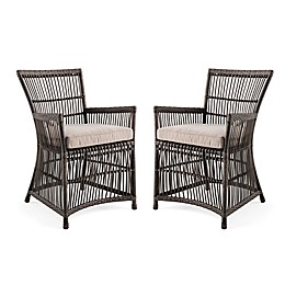 Bee & Willow™ Home Outdoor Dining Chairs in Grey (Set of 2)