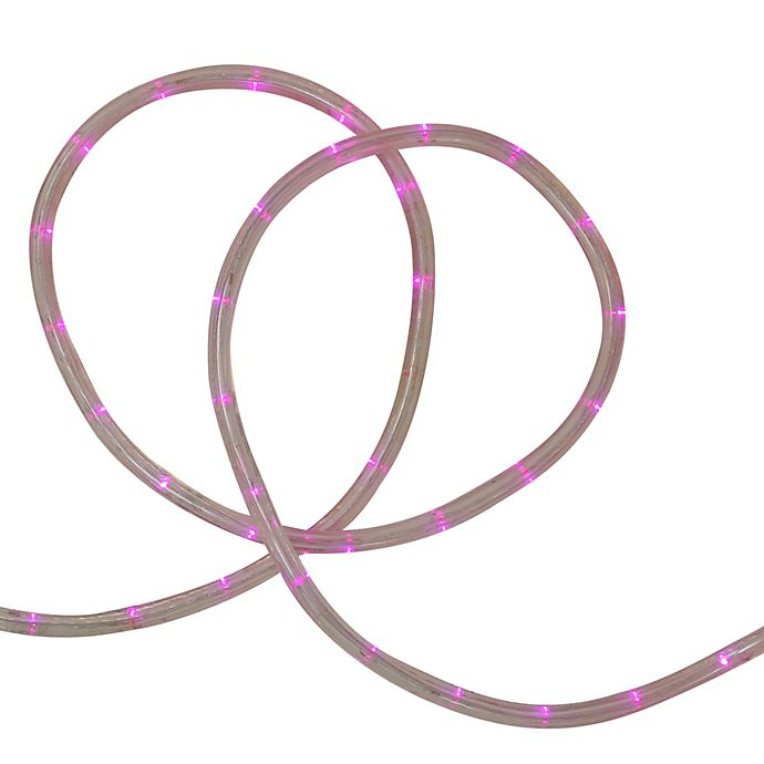 Alternate image 1 for Sienna 20-Foot LED Christmas Rope Light in Pink
