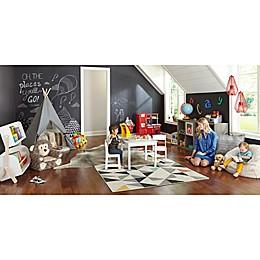Pop of Color Toddler Playroom