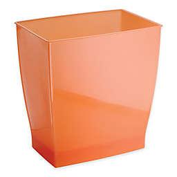 iDesign® Spa Mono Rectangular Trash Can in Tango