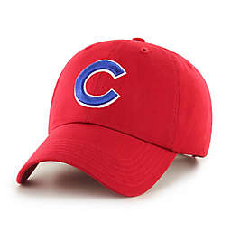 MLB Chicago Cubs Fan Favorite Red Clean Up Cap