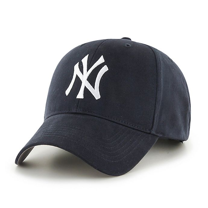 Alternate image 1 for MLB New York Yankees Basic Youth Adjustable Cap