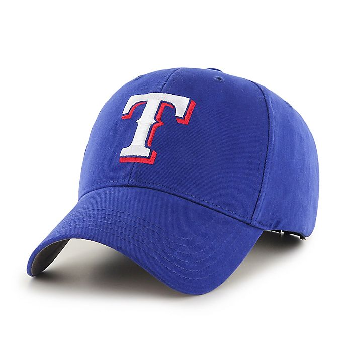 Alternate image 1 for MLB Texas Rangers Basic Youth Adjustable Cap