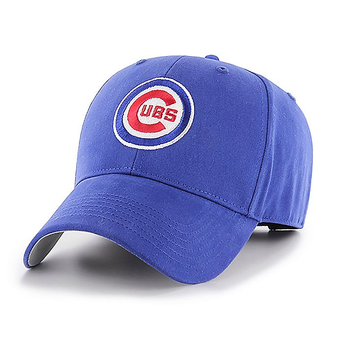 Alternate image 1 for MLB Chicago Cubs Basic Youth Adjustable Cap