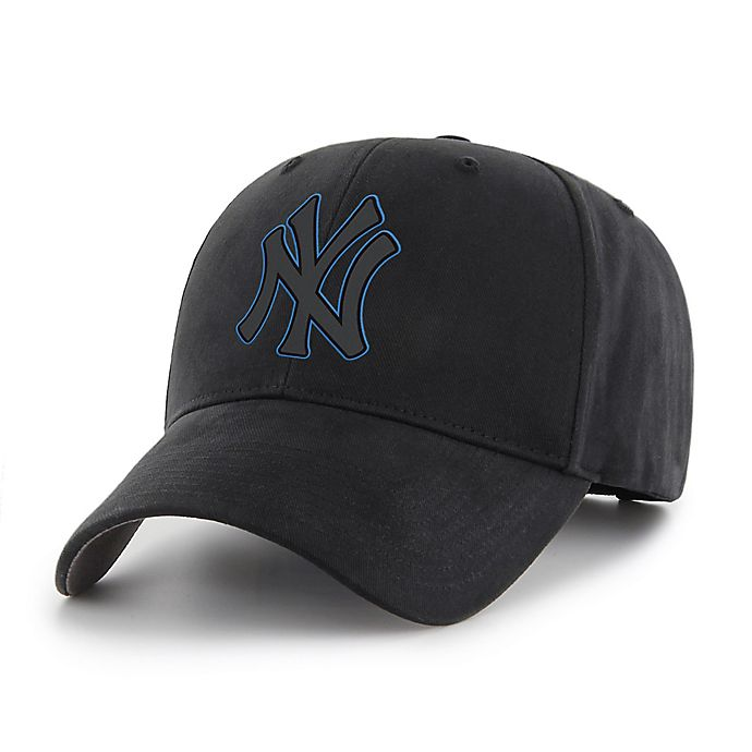 Alternate image 1 for MLB New York Yankees Basic Adjustable Black Cap