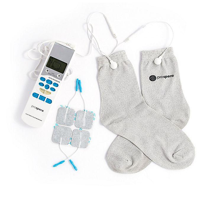 Alternate image 1 for Prospera® TENS Socks Electronic Pulse Massager