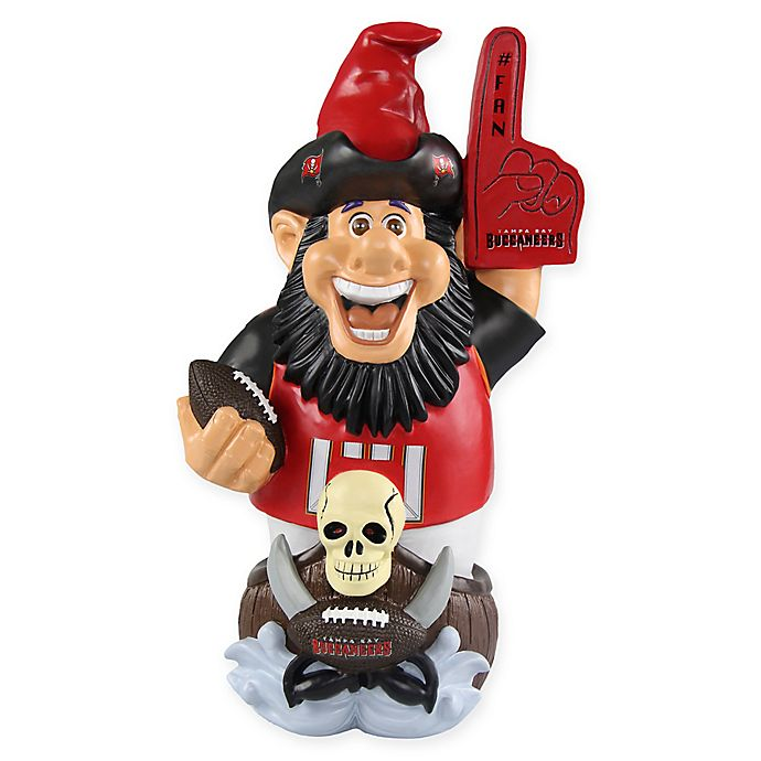 Alternate image 1 for NFL Tampa Bay Buccaneers Caricature Garden Gnome