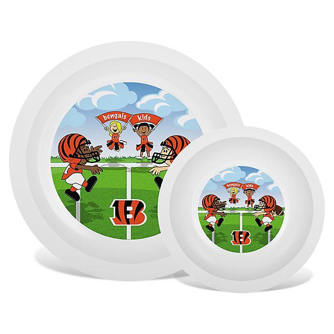 Baby Fanatic® NFL Cincinnati Bengals Plate & Bowl Set