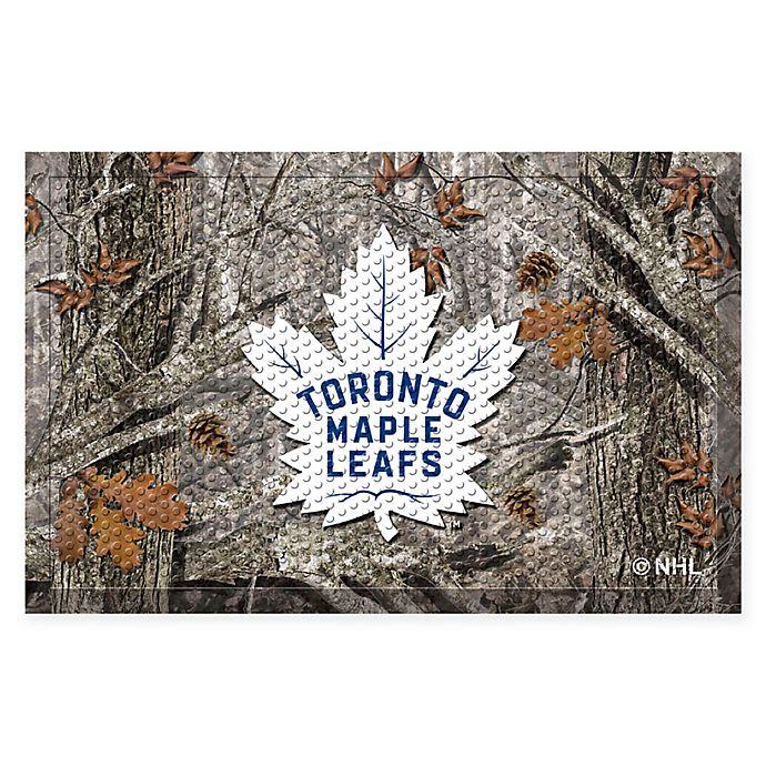 Alternate image 1 for NHL® Toronto Maple Leafs Camo Scraper Door Mat