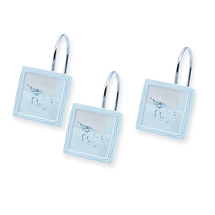 Avanti Blue Waters Shower Curtain Hooks