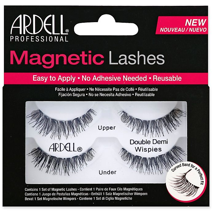 c9f6d23bfdf Ardell® Magnetic Lash Accents Demi Wispies in Black | Bed Bath & Beyond