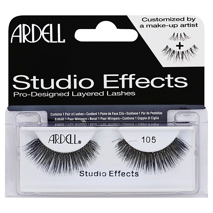74de05b20aa Ardell® Studio Effects Lashes in Black 105 | Bed Bath & Beyond