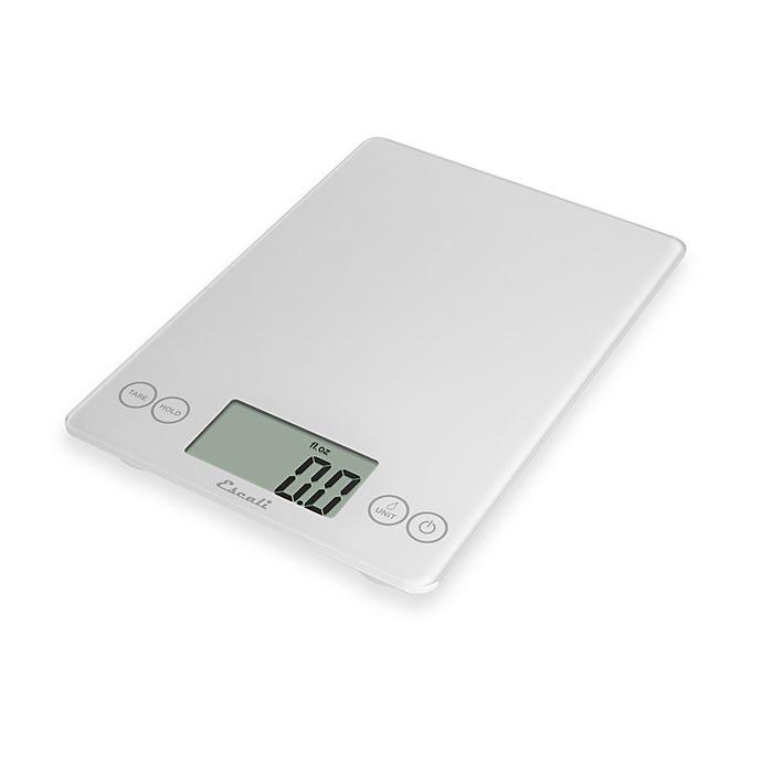 Alternate image 1 for Escali® Arti 15 lb. Multipurpose Digital Food Scale in White