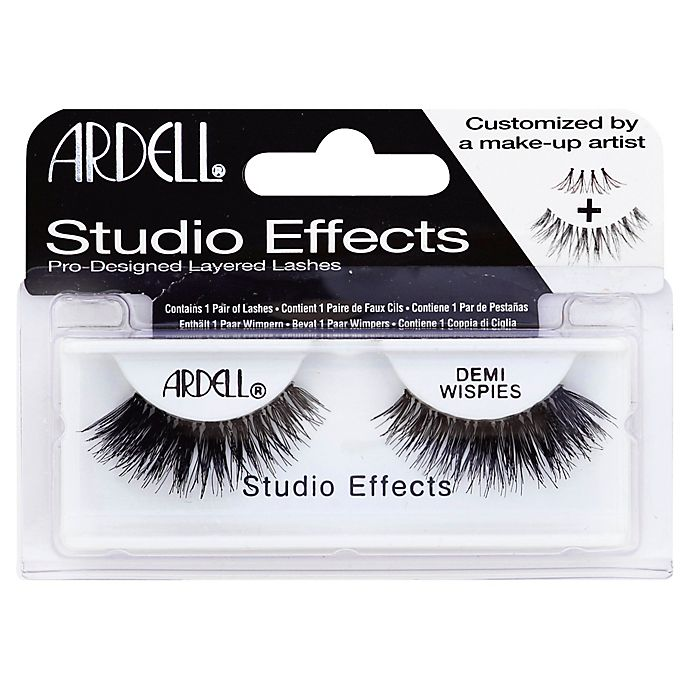 ca84d399b14 Ardell® Studio Effects Demi Wispies Lashes in Black | Bed Bath & Beyond