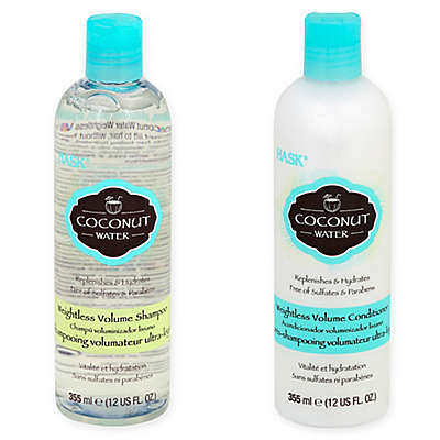 Hask® Coconut Water Weightless Volume Hair Care Collection