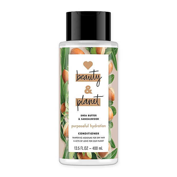 Alternate image 1 for Love Beauty And Planet 13.5 fl. oz. Shea Butter & Sandalwood Conditioner