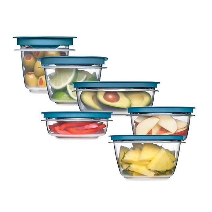 Alternate image 1 for Rubbermaid® Flex & Seal™ Food Storage with Easy Find Lids