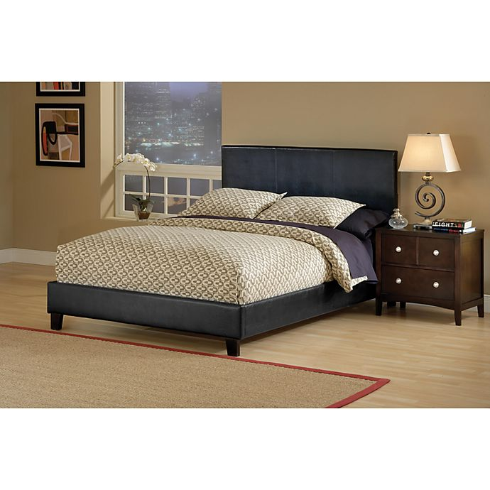 ba9652e806cb Hillsdale Furniture Harbortown Bed Set with Side Rails | Bed Bath ...