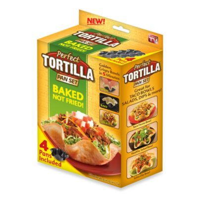 Perfect Tortilla Party Pack Baking Pans Set Of 4 Bed