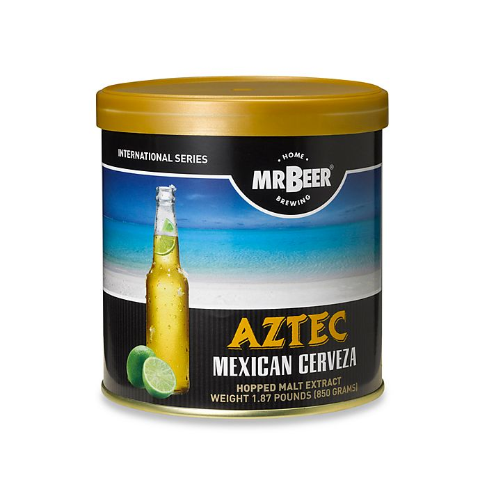 Alternate image 1 for Mr. Beer Aztec Mexican Cerveza Refill Kit