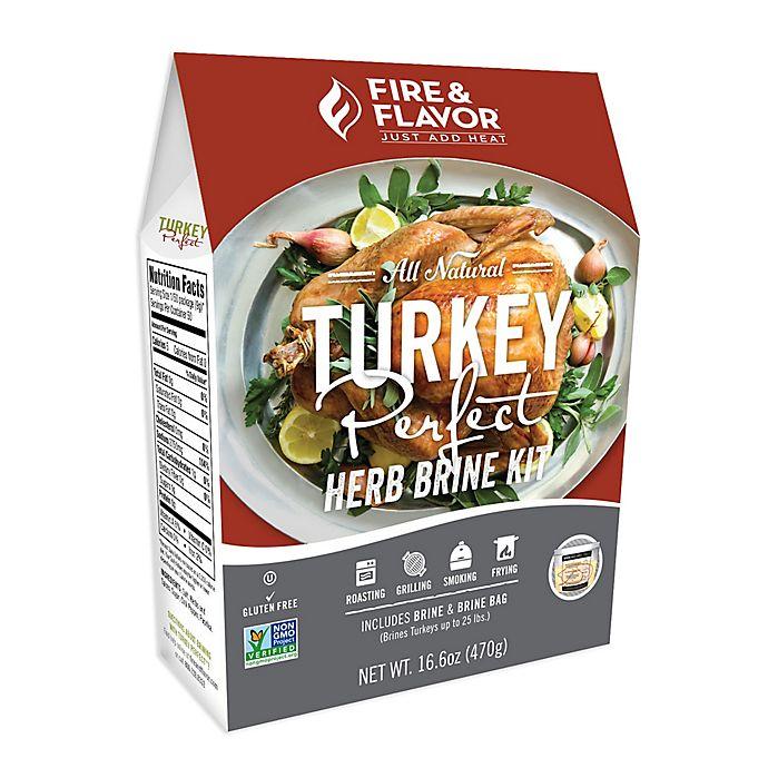 Fire Amp Flavor Turkey Perfect Herb Blend Brining Kit