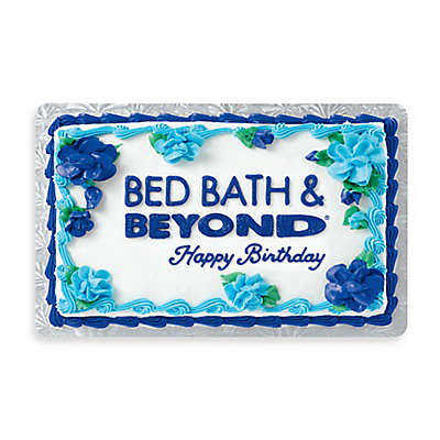 """Happy Birthday"" Cake Gift Card $25"