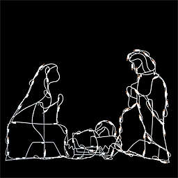 Northlight Pre-Lit Nativity Scene