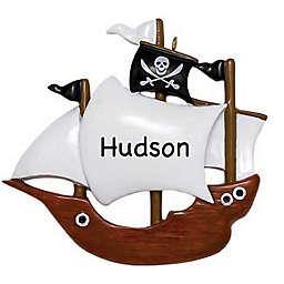 Pirate Ship Ornament