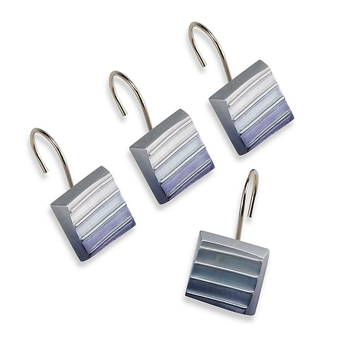CroscillR Fairfax Shower Curtain Hooks Set Of 12