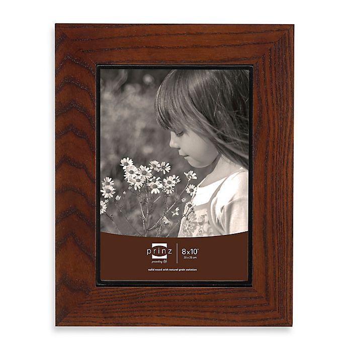 Alternate image 1 for Prinz Adler 8-Inch x 10-Inch Wood Picture Frame in Walnut