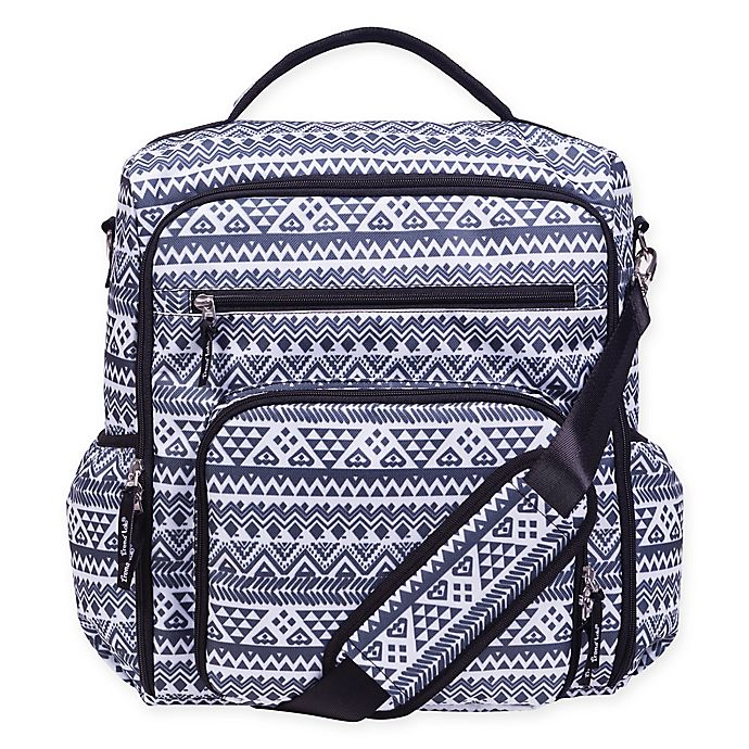 Alternate image 1 for Trend Lab® Convertible Backpack Diaper Bag