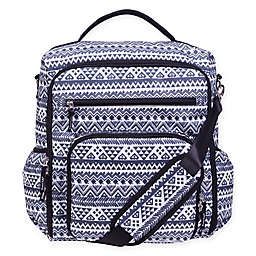 Trend Lab® Aztec-Inspired Convertible Backpack Diaper Bag in Black/White
