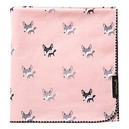 Little Fennec Flannel Cuddle Blanket in Parade
