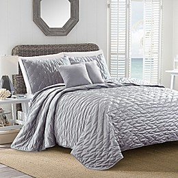 Sherry Kline Dot Luxe Embroidered Quilt Set